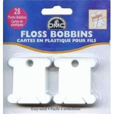 Бобины пластиковые для мулине DMC