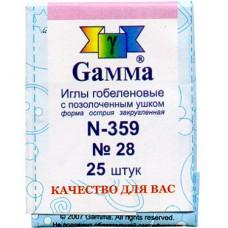 Набор игл для вышивания №28 Gamma