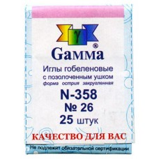 Набор игл для вышивания №26 Gamma