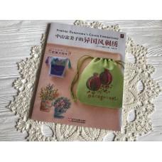 Вышивка шовчиками, гладью и крестиком