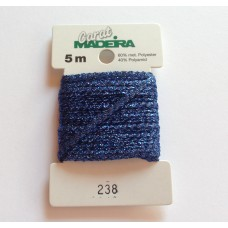 CARAT декоративная меттализированная тесьма №238 (2 мм) Madeira