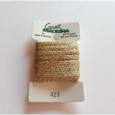 CARAT декоративная меттализированная тесьма №423 (5 мм) Madeira