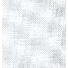 Ткань 50х35см равномерная (32ct) 065/00 White (100% ЛЕН) Permin