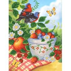 """Схема для вышивания бисером """"Летние фрукты"""""""