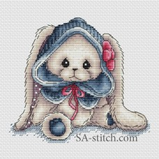 "Набор для вышивания Sa-Stitch ""Зайка Юнна"""