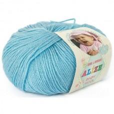 Alize Baby Wool №128 голубой