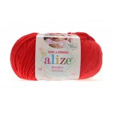 Alize Baby Wool №56 красный