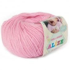 Alize Baby Wool №194 розовый