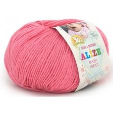 Alize Baby Wool №33 ярко - розовый
