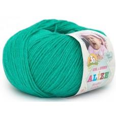 Alize Baby Wool №610 яркий изумруд