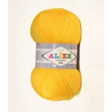 Alize LANAGOLD 800 №216 жолтый