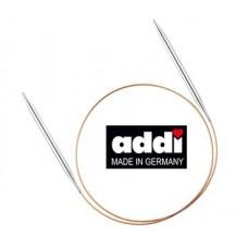 Спицы круговые Addi Premium  (12,5 см) на леске 60 см